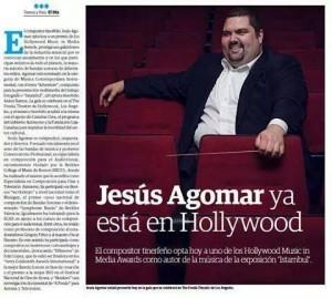 Jesús Agomar Músico canario