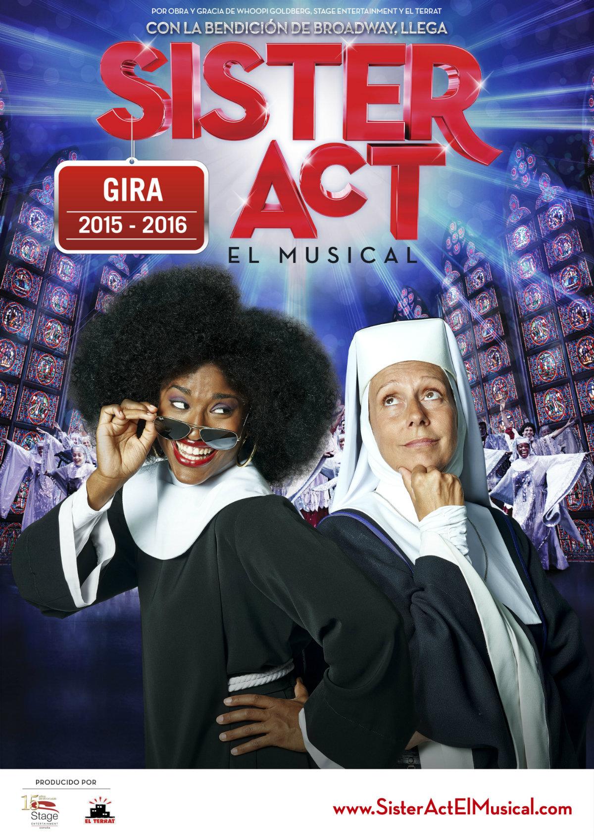 Moadiario cartel_gira Sister Act