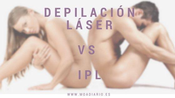 ¿Cuál eliges: Depilación láser Vs IPL?
