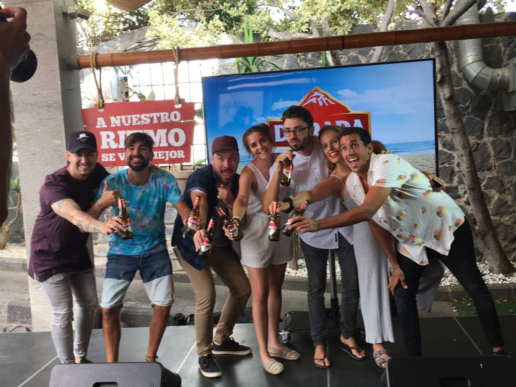 Moadiario Campaña de verano Cerveza Dorada
