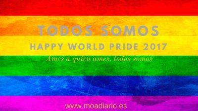 Todos somos… World Pride 2017