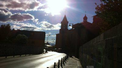 Entrevista en el Camino de Santiago