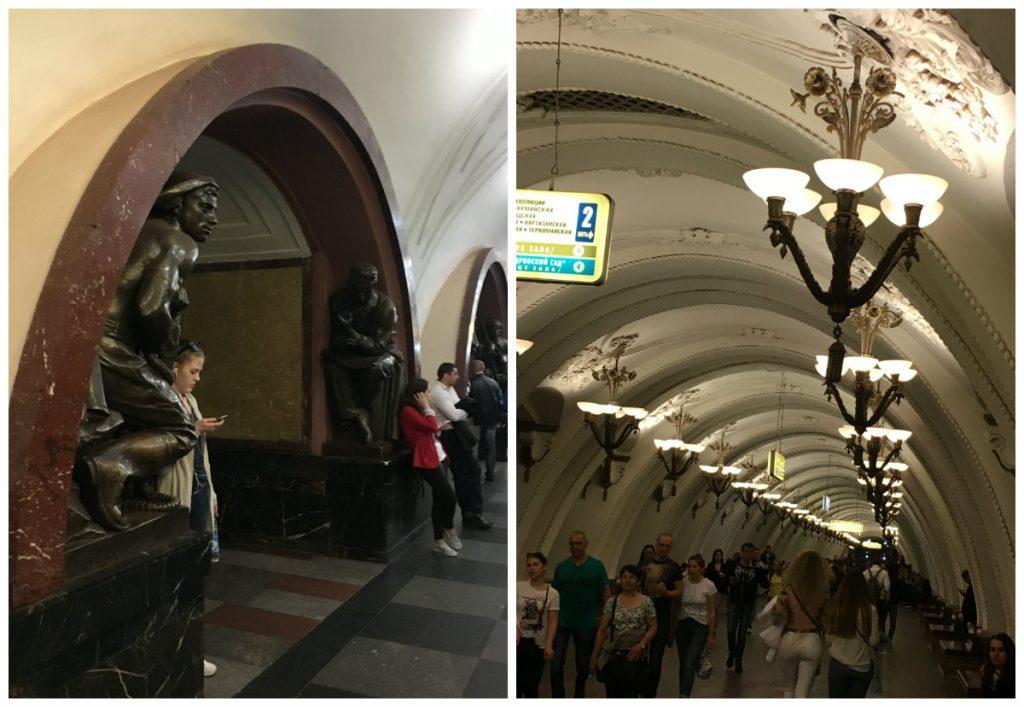 Moadiario Estaciones Metro 3 Moscú